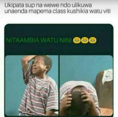 Nitaambia nini watu