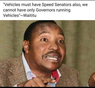 Waititu wisdom