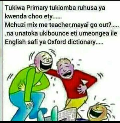 Mchuzi mix teacher