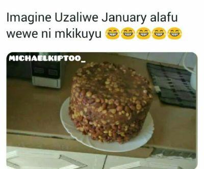 January babies cake in njaanuary