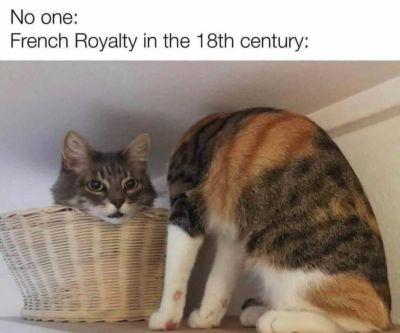 French royalty in the 18th century