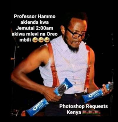 professor hamo akienda kwa jemutai 2am akiwa mlevi na oreo mbili