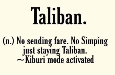 stay taliban