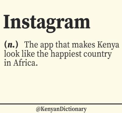 kenyan dictionary instagram