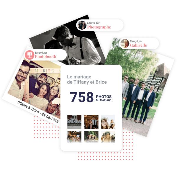 Rassembler ses photos de mariages