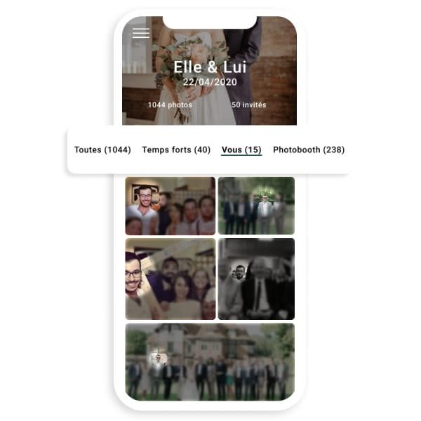 Tri automatique des photos à l'aide de la reconnaissance faciale