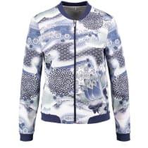Gerry Weber Edition Blue Detailed Print Bomber Jacket