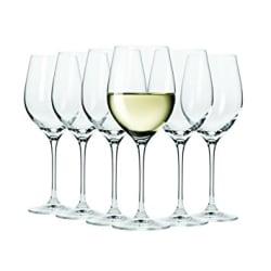 Maxwell Williams Vino Set of 6 Wine White Glasses 370ml