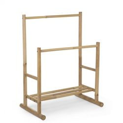 Bamboo Clothes Stand