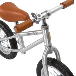 Banwood First Go! Balance Bike - Chrome