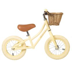 Banwood First Go! Balance Bike - Cream/Vanilla