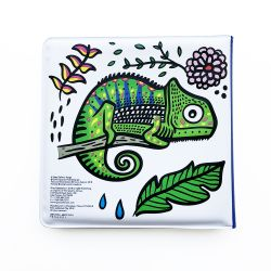 Colour Me Bath Book - Who's In The Rainforest?