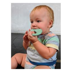 Crocodile - Natural Rubber Baby Teether