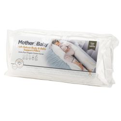 Organic Cotton 12ft Deluxe Body & Baby Support Pillow