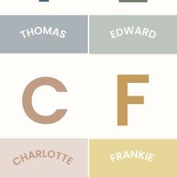 Personalised Children's Nursery Print - Pink