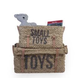 Rattan Toy Storage Baskets - Set of 2