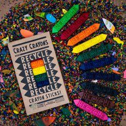 Recycle Sticks Crayon Set - Box of 10