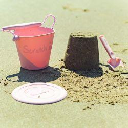 Scrunch Spade - Blush Pink