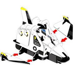 Space Ranger - Space Ship Playset