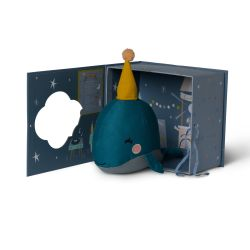 Whale Soft Toy with Gift Box