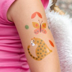 Wild Wonders Animals - Temporary Tattoos