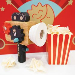 Wooden Hollywood Film Camera