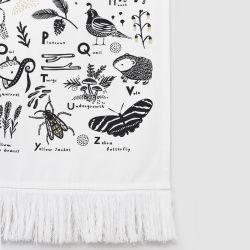 Woodland Animal Alphabet Wall Hanging/Tapestry