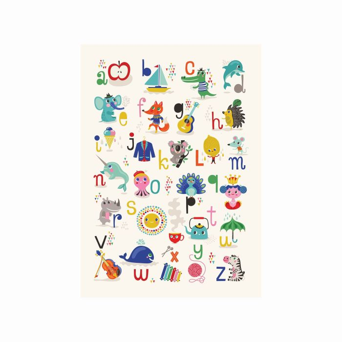 Colourful Alphabet Poster - ABC