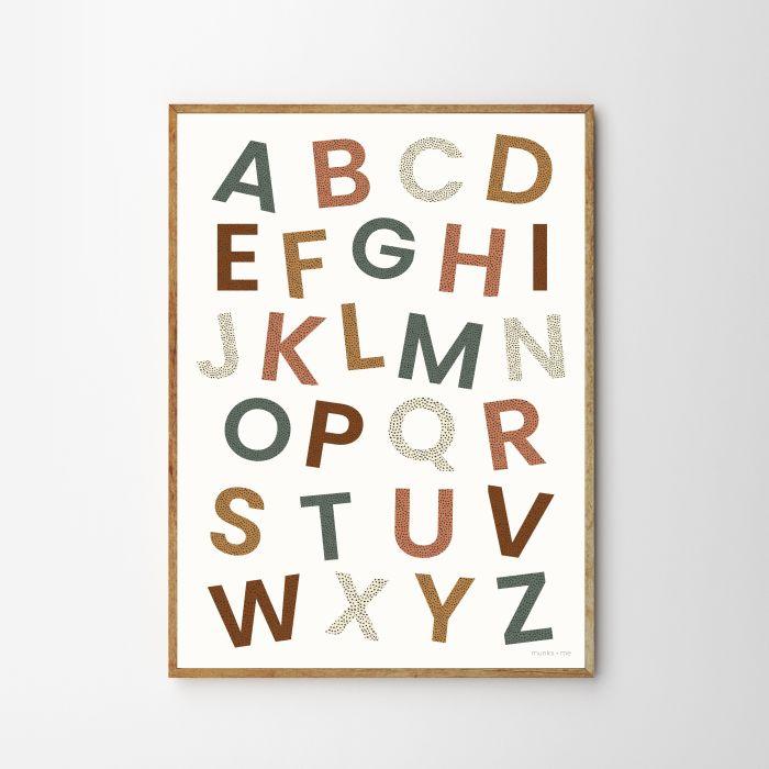 Alphabet Children's Print