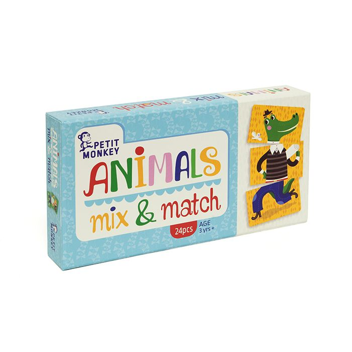 Animals Mix & Match