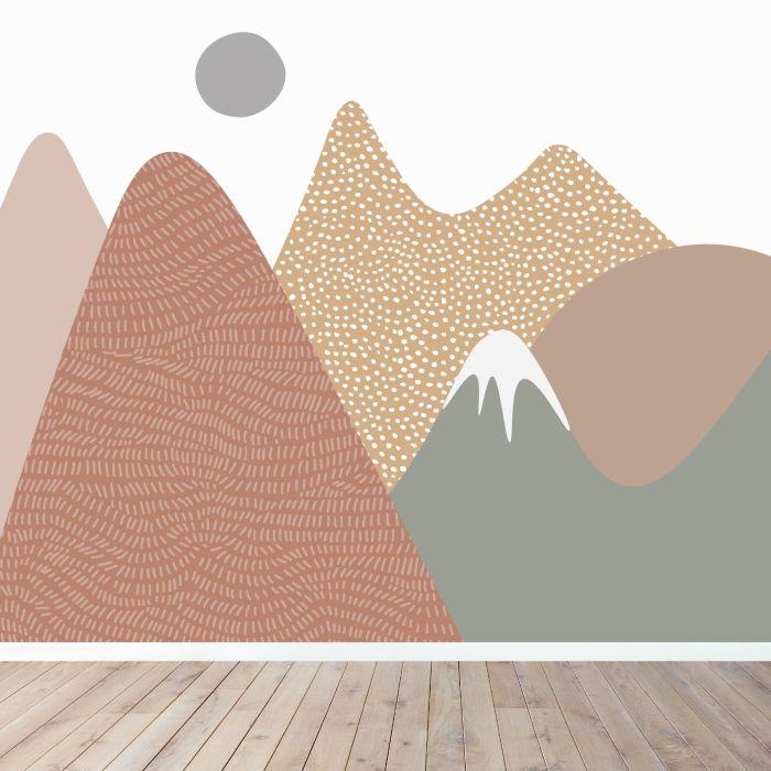 Ava Mountain Mural Wallpaper