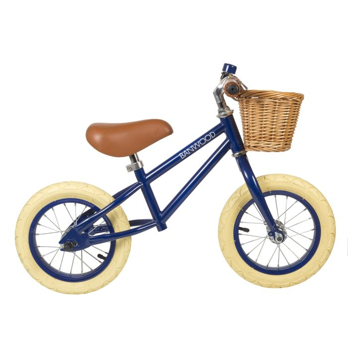 Banwood First Go! Balance Bike - Navy Blue