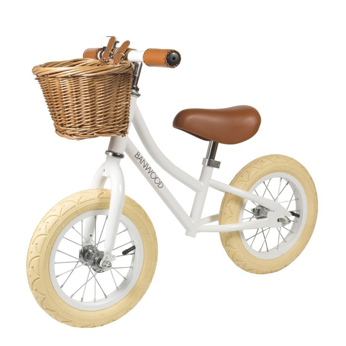 Banwood First Go! Balance Bike - White