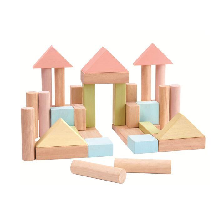 Building Blocks - Pastel