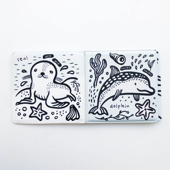 Colour Me Bath Book - Who's In The Water?