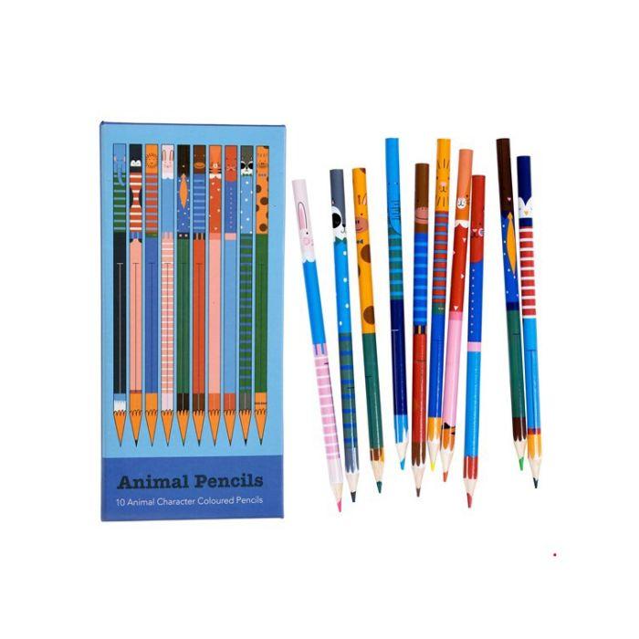 Colouring Pencils - Animal Designs