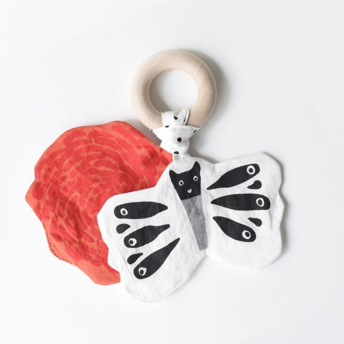 Crinkle Teether - Butterfly