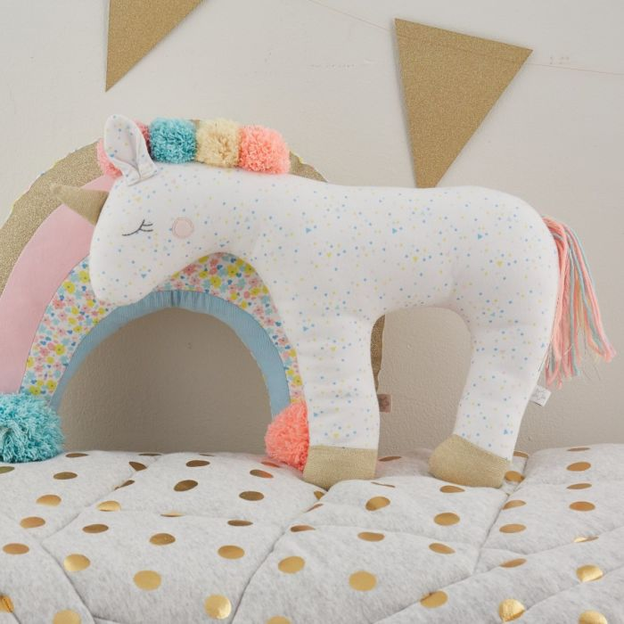 Cuddly Unicorn Decorative Toy
