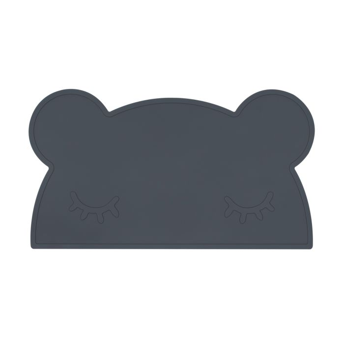 Dark Grey Bear Placemat