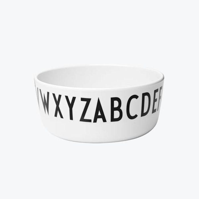 Design Letters Melamine Bowl ABC