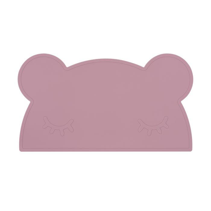 Dusky Pink Bear Placemat