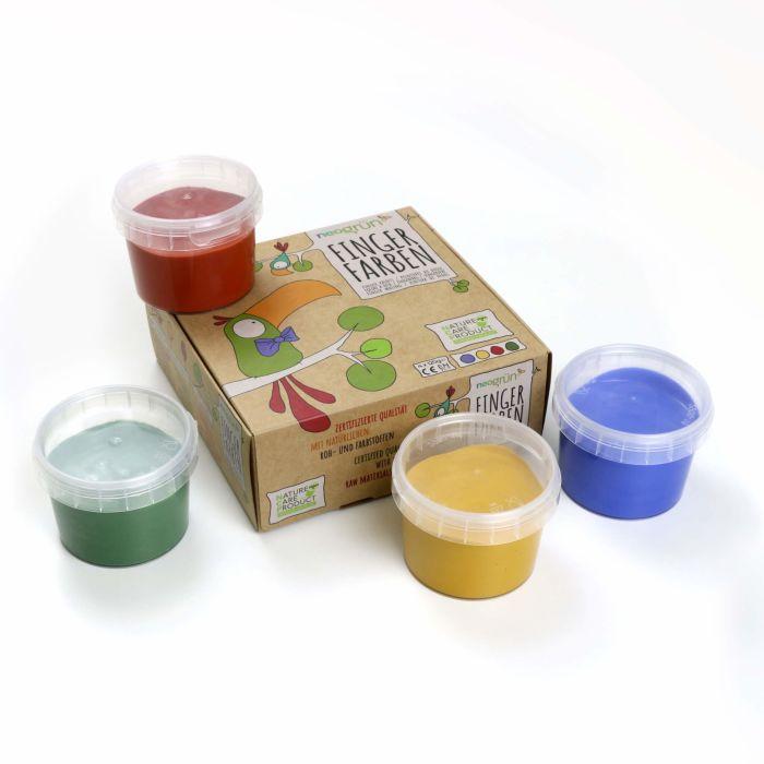 Finger Paints Set of 4 - Aki
