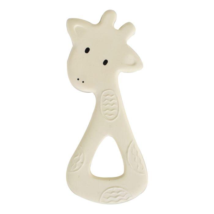Giraffe - Natural Rubber Baby Teether
