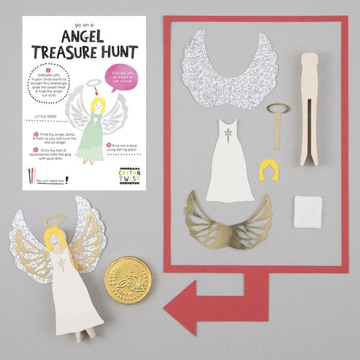 Go On An Angel Treasure Hunt