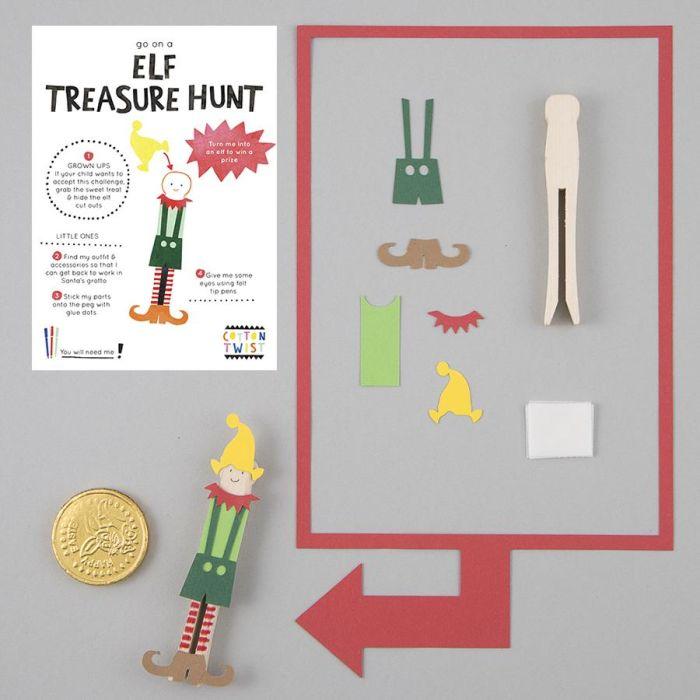 Go On An Elf Treasure Hunt