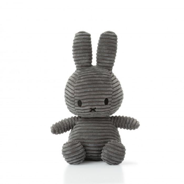 Grey Corduroy Miffy Soft Toy - Medium