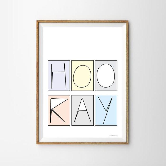 Hooray Print