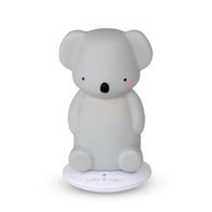 Koala Rechargeable Night Light - Grey