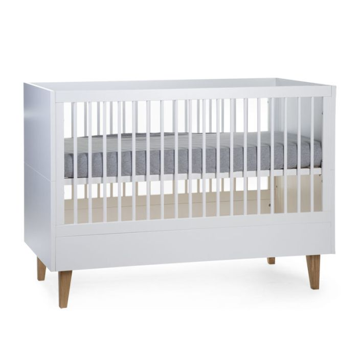 Lalande White & Natural Cot - 60x120cm