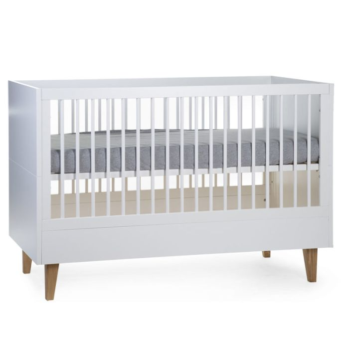 Lalande White & Natural Cot - 70x140cm